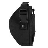 Lixada Portable Gear fondina a destra a 6,3 pollici nascosta Carry Holster Fondina con clip