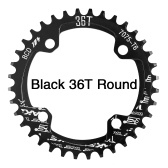 Bike Narrow Wide Chainring Crankset Single Chain Ring
