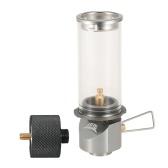 Lanterne légère au gaz butane