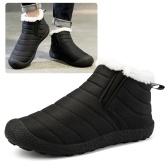 Теплые ботинки снега Женщины Мужчины Зимние слипоны на снегоступах