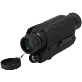 Night Vision Monocular with 200M Full Dark Distance Camera Video Replay Menu Modes 8GB TF Card