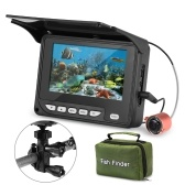 4.3 polegadas câmera de pesca subaquática portátil localizador de peixes à prova d 'água visão noturna barco de gelo câmera de pesca 20 m cabo com saco de transporte