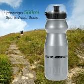 Bottiglia leggero sport della bici della bicicletta del ciclo di 560ml di acqua di plastica con bollitore copertura antipolvere Bike Acqua
