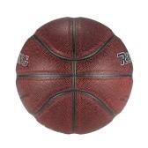 Equipo balón oficial Tamaño 7 de baloncesto cubierta de cuero al aire libre de la PU de la bola del baloncesto duradero de ajuste de juego de entrenamiento