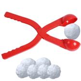 Kunststoff Schneeball Maker Schnee Ball Scoop Winter Spiele Spielzeug