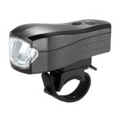 Luz LED del sensor inteligente de bicicleta recargable USB