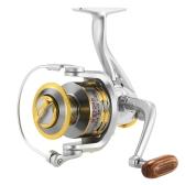12 BB Прядильная рыболовная катушка 5.1: 1 Передаточное отношение Рыболовная катушка для речного озера Морская рыбалка