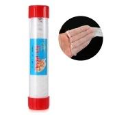 Rete a maglia stretta PVA in tubo 5M 25 / 37mm Dissolving Stocking Bait Bags Rete da pesca Universal Refill Stocking Bait Bags