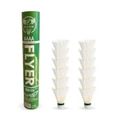 12 Pack Goose Feather Badminton