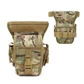 Multi-funcional Tactical Drop Leg Bag Outdoor Ciclismo Coxa Pacote Cintura Cinto