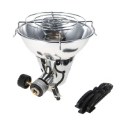 Outdoor Portable Piezo Ignition Gas Heater Warmer Heating Stove