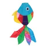 70 centimetri di lunghezza multicolore 3D Kites pesci svegli di tipo Kite Fly Tail Aquilone code Ripstop Sail Kite accessori
