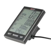 Fahrrad-Computer-Fahrrad-Geschwindigkeitsmesser-Temperatur der Hintergrundbeleuchtung Wasserdicht für einen.Kreislauf.durchmachenreiten Multi Function