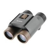Binocular plegable compacto 10x25