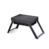 Staffa per barbecue portatile per barbecue a carbonella