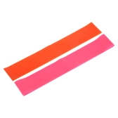 2PCS Sports Exercise Resistance Loop Bands Set Elastic Band Set for Legs and Strength Training