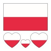 Football Fan Sticker nazionale della bandiera per la Coppa del Mondo FIFA 2018