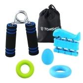 TOMSHOO Hand Grip Strengthener Workout (5 em 1)