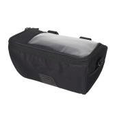 Multifunktionale Fahrrad Lenkertasche mit Touchscreen-Tasche Radfahren vorne Frame Bag Pack Crossbody Umhängetasche