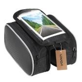 Lixada Fahrrad-Frontrahmen-Touchscreen-Handytasche