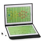 Faltbare Fußball-Fußball-magnetische Taktik-Tafel