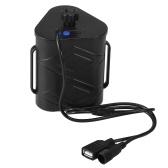 12V/5V Battery Case Removable Charger Battery Box Holder