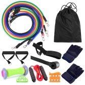 16pcs Fintess Resistance Bands Set