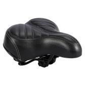 Wide Big Bike Saddle Seat Shockproof Wear-resistant Soft Comfortable Bike Saddle
