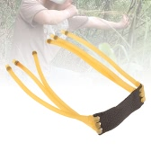6-Strip Velocity Elastic Elastica Bungee Rubber Band for Slingshot Catapult Hunting
