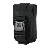 Nylon Molle Bolsa Celular Cinturón Clip Holster Utilidad Gadget Bolsa Bolsa Cintura Al aire libre para el iPhone
