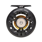 Fly Fishing Reel Machined Aluminum Full Metal Fly Fishing Wheel Left And Right Hand Interchangeable Fishing Tackle Accessory