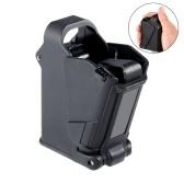 El cargador universal de la revista de la velocidad del engranaje de la mano cabe los accesorios del engranaje de la caza del negro de 9m m 45ACP