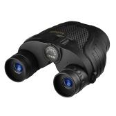 Telescópio de Binóculos Compactos de Zoom 10-30X25