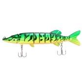 "8 ""/ 20cm 66g Lebensechtes Multi-Gelenk 8-Segment Pike Muskie Fishing Lure"