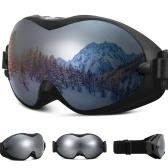 Ski Goggles Anti-Fog UV Protection