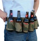 Im Freien Six Pack Portable Bierflasche Gürtel