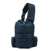Tactics Pack Sling Backpack Army Molle Borsa impermeabile EDC