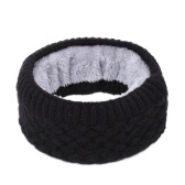 Winter Ribbed Knitted Circle Loop Ring Scarf