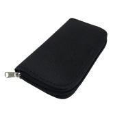 CF / SD / SDHC / MS / DSカード用ポータブルメモリカード収納袋ポーチホルダージッパー式キャリングケースウォレットオーガナイザー