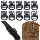 10 Pieces Tactical Gear Strap Clip