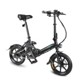 FIIDO D3 14 Inch Folding Power Assist Electric Bicycle