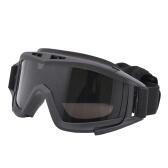 Óculos de proteção táticos militares de Airsoft