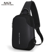 MARK RYDEN Portable Fashionable Casual Anti-Thief Multifunctional Waterproof USB Charging Men Single-Shoulder Bag