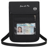 Travel Pouch Neck Wallet with RFID Blocking Passport Holder