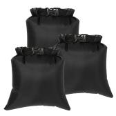 3pcs 8l sacs de rangement étanches en plein air sacs secs sacs de rangement pour appareil photo smartphone
