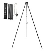Outdoor Camping Cooking Tripod Portable Campfire Picnic Pot Hanging Tripod
