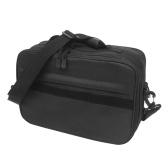 Fishing Tackle Bag Water Resistant Fishing Storage Bag Crossbody Shoulder Bag Handbag with Removable Dividers