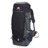 Zaino da escursionismo 65L Zaino da viaggio sportivo da esterno impermeabile per uomo Donna Campeggio Trekking Touring