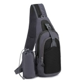7L Sling Bag Women Men Shoulder Backpack Chest Pack Causal Crossbody Bag