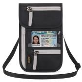 Organizer per documenti con supporto per passaporto per portafoglio
